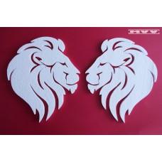Лъвски глави - 2 бр.