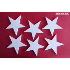 6 броя звезди
