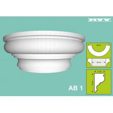 Капител / База AB 1 - 13x23 см