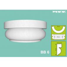 Капител / База BB 6 - 5x12 см