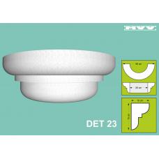 Капител / База DET 23 - 10x15 см