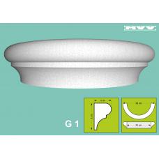 Капител / База G 1 - 4x8 см