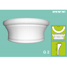 Капител / База G 2 - 5,5x14,5 см