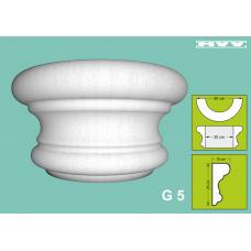 Капител / База G 5 - 10x25 см