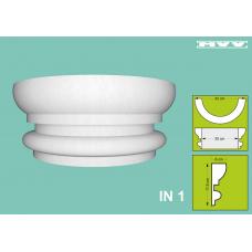 Капител / База IN 1 - 6x17,5 см
