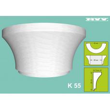 Капител / База K 55 - 9x20 см
