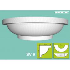 Капител / База SV 9 - 18x18 см