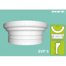 Капител / База SVP 5 - 5x12 см