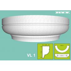 Капител / База VL 1 - 9x15 см