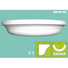 Капител / База Z 3 - 7x7 см