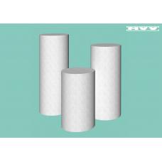 Кръгли плътни коктейлни / парти масички - 3 броя