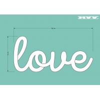 Ръкописен надпис love
